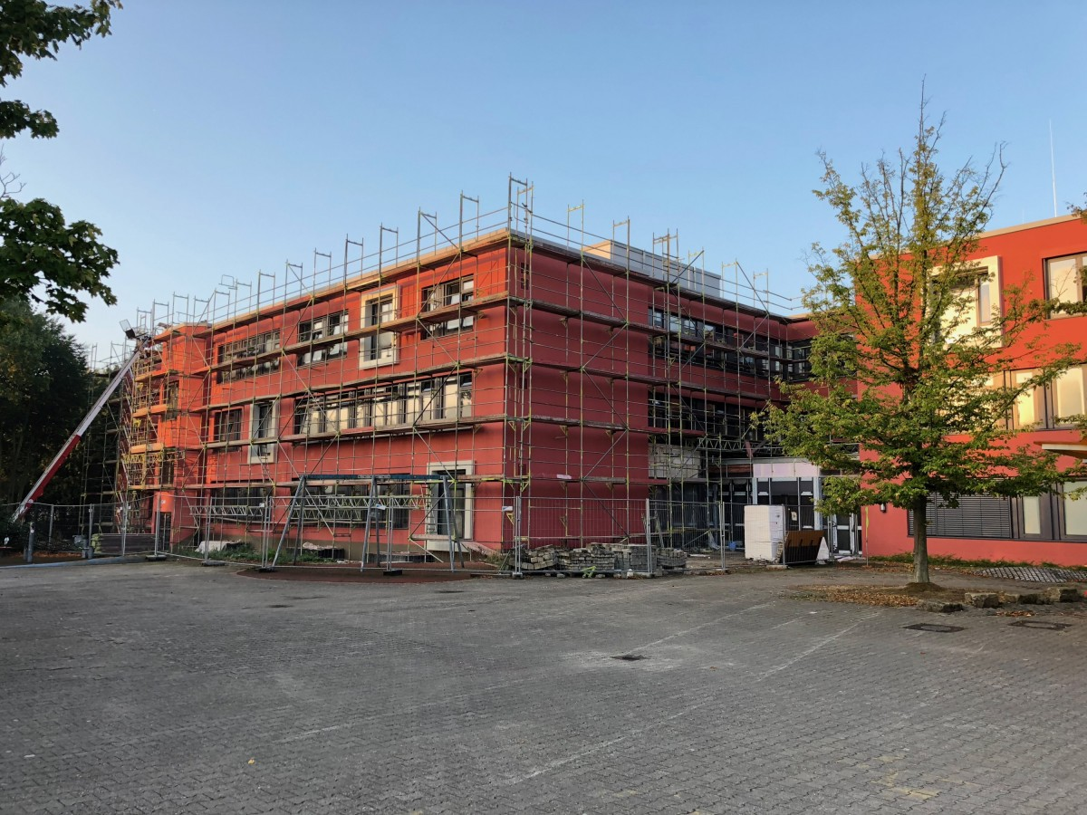 Baustellenfotos September 2018