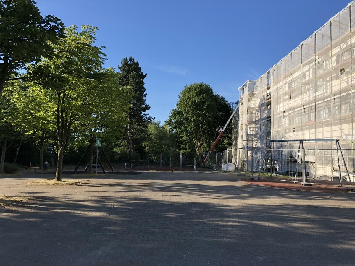 Baustellenfotos Juli 2018